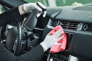 Clean your car's interior during COVID